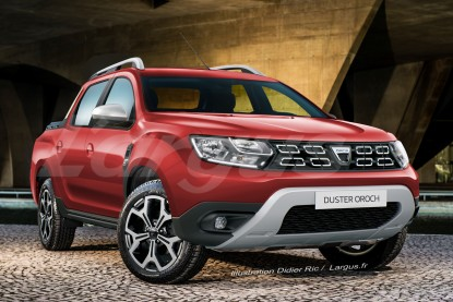 dacia duster oroch le nouveau duster en version pick up en europe dacia auto evasion. Black Bedroom Furniture Sets. Home Design Ideas