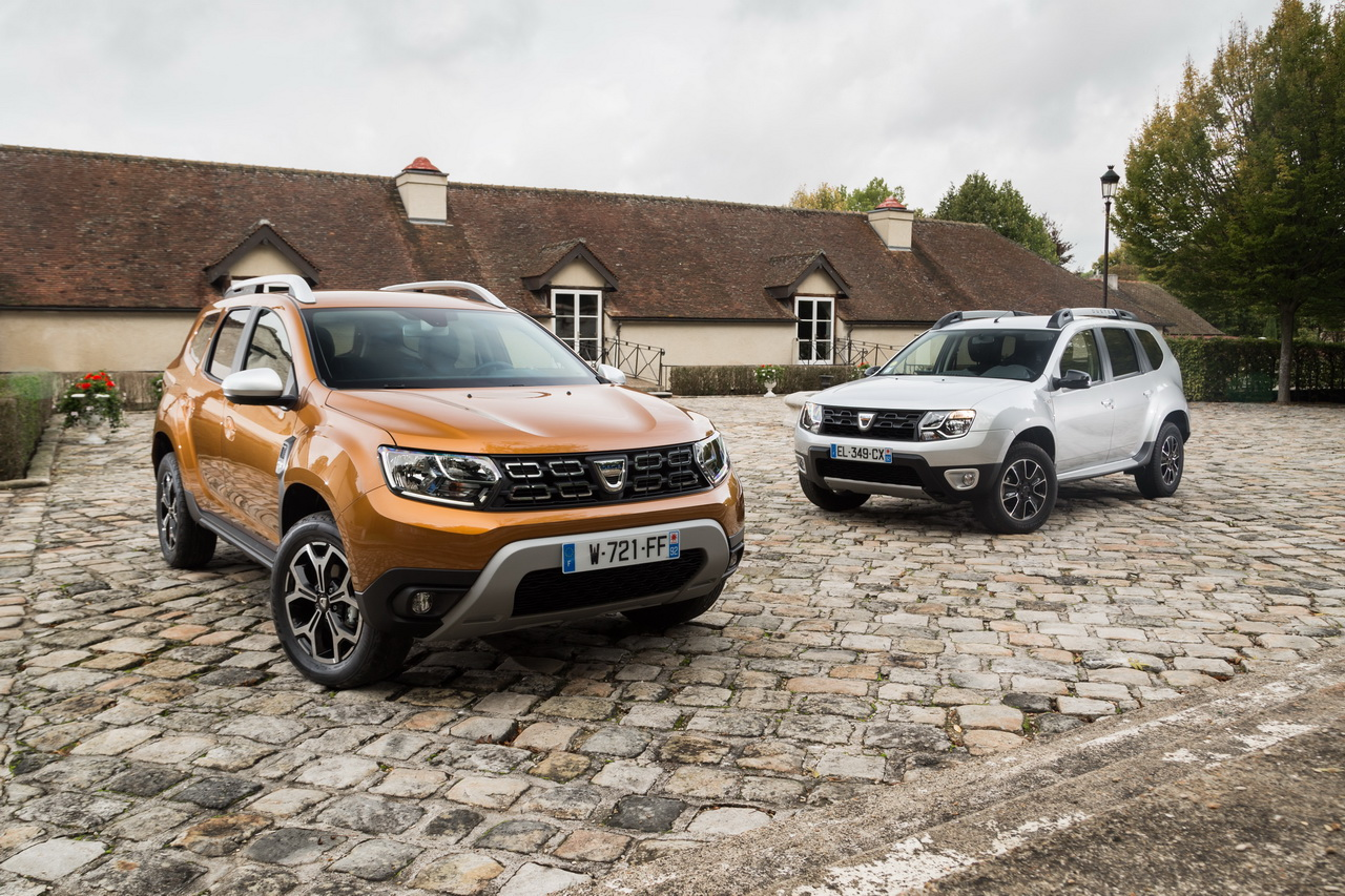 dacia duster 1 vs duster 2 tout ce qui change en photos et en vid o dacia auto evasion. Black Bedroom Furniture Sets. Home Design Ideas