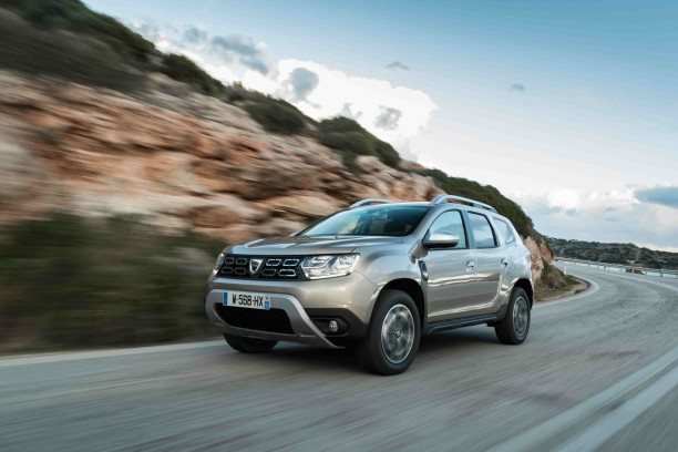 dacia duster 2018 en virage