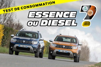 dacia duster tce 125 et dci 110 essence ou diesel lequel choisir dacia auto evasion. Black Bedroom Furniture Sets. Home Design Ideas