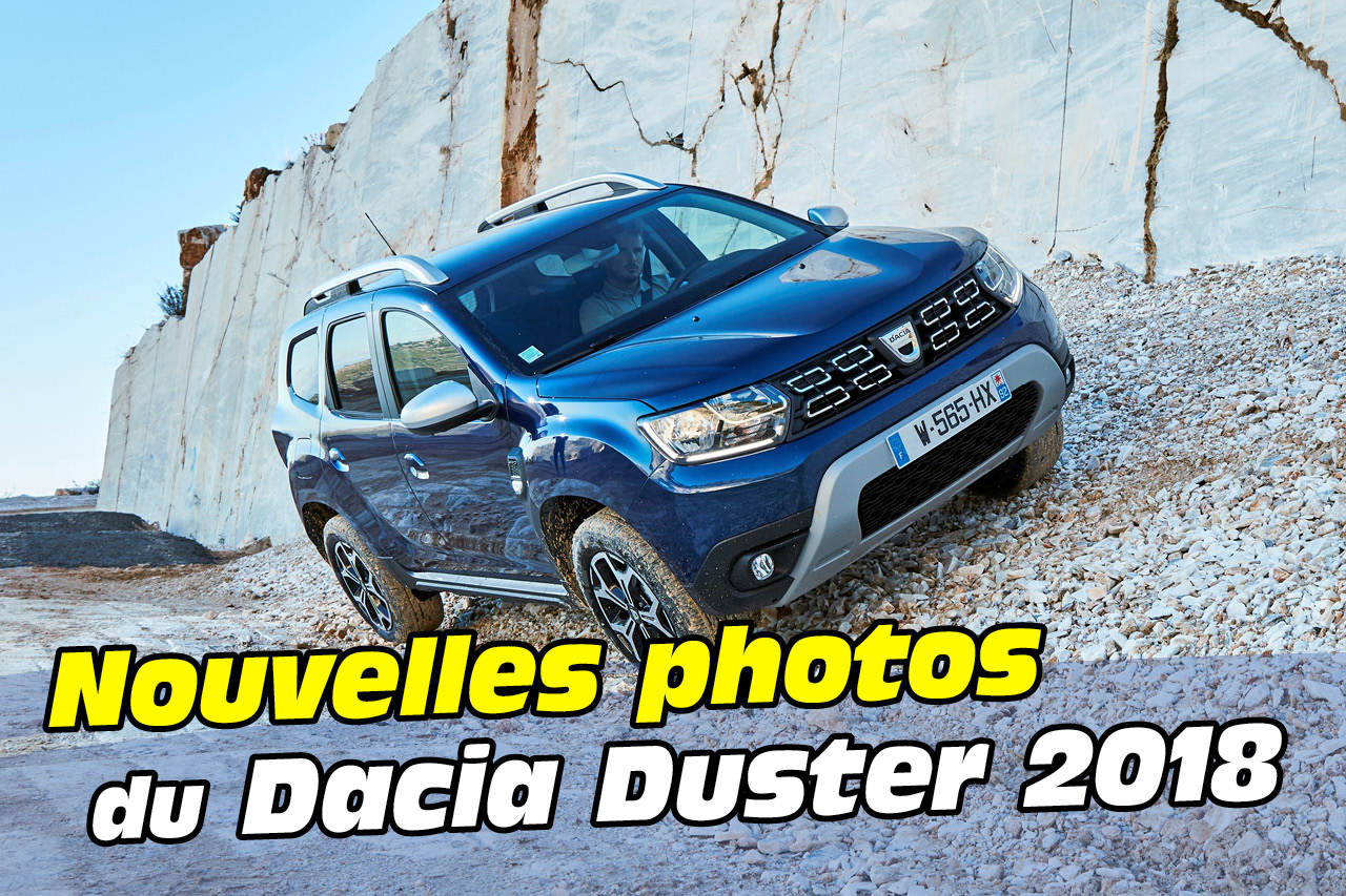 30 nouvelles photos du dacia duster 2018 photo 1 l 39 argus. Black Bedroom Furniture Sets. Home Design Ideas