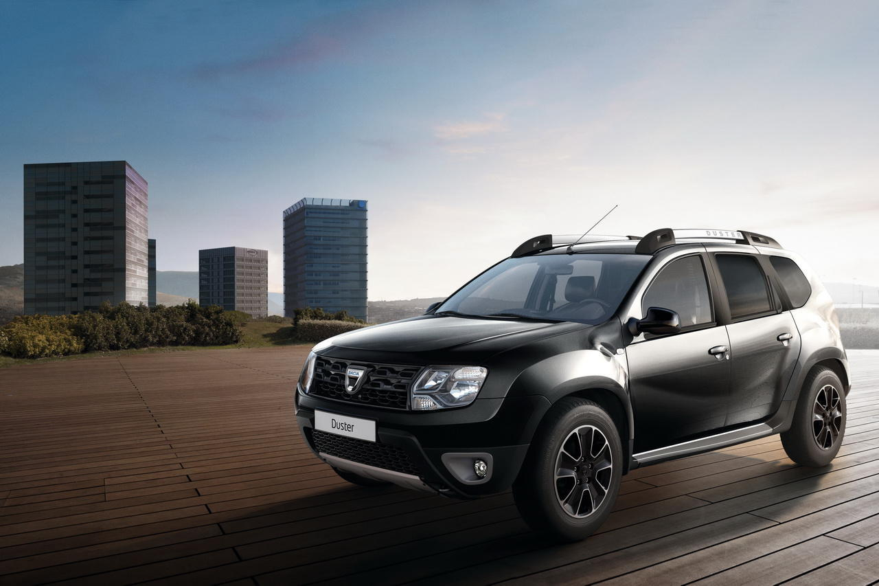 dacia duster nouvelle finition haut de gamme black touch. Black Bedroom Furniture Sets. Home Design Ideas