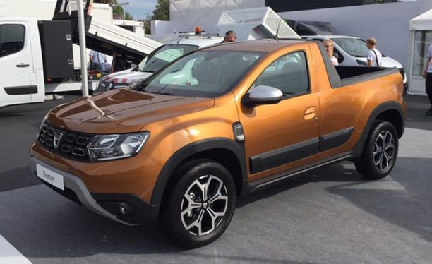 dacia duster 2 la version pick up non officielle est pr te l 39 argus. Black Bedroom Furniture Sets. Home Design Ideas