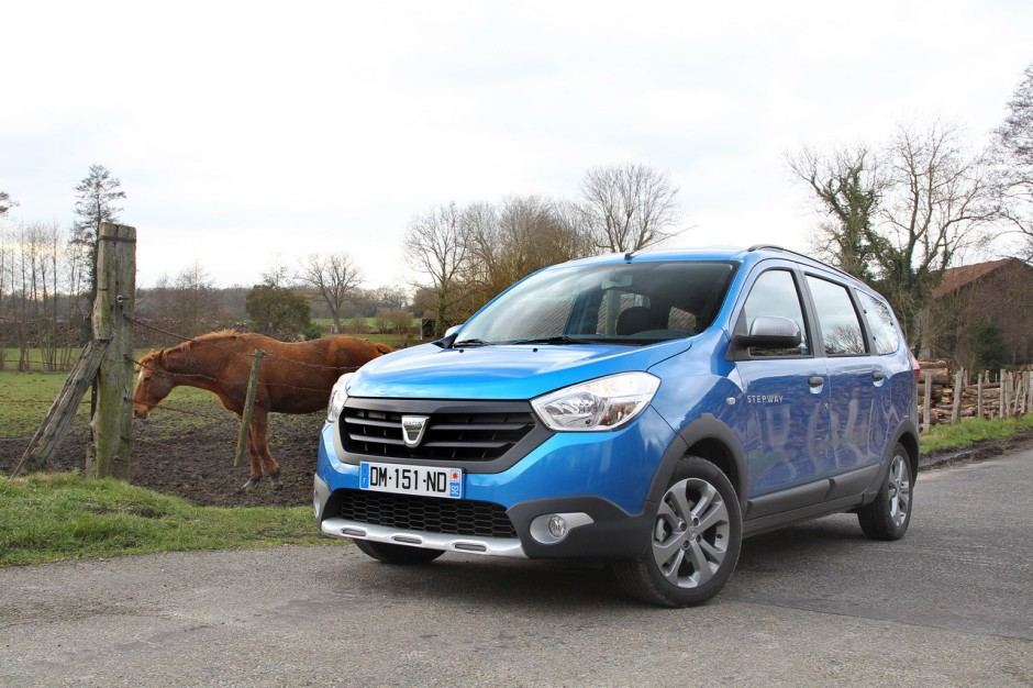 essai dacia lodgy stepway le duster sept places photo 3 l 39 argus. Black Bedroom Furniture Sets. Home Design Ideas
