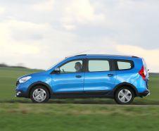 La déclinaison Stepway du Dacia Lodgy n'est proposée que sur les moteurs les plus puissants : dCi 110 en diesel, TCe 115 en essence.