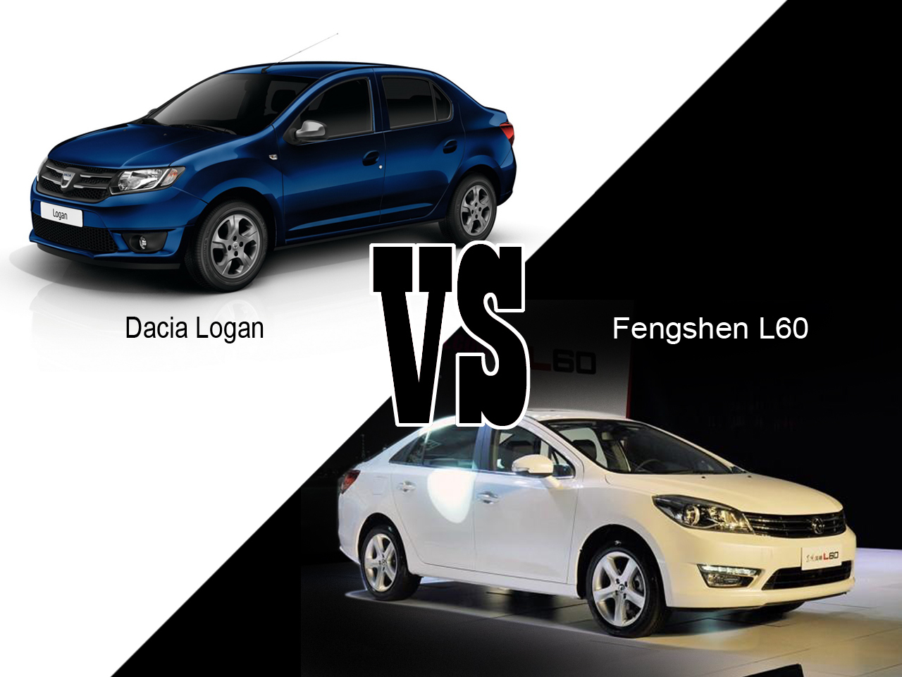 dacia logan vs fengshen l60 le match du low cost photo 1 l 39 argus. Black Bedroom Furniture Sets. Home Design Ideas