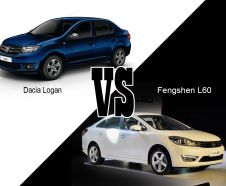 illustration match dacia logan vs fengshen l60