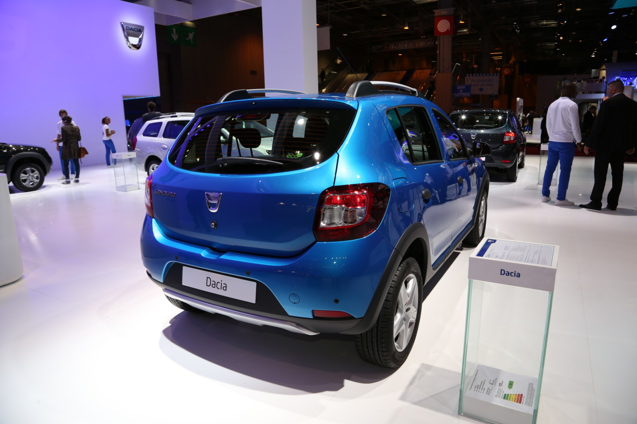 mondial 2014 l 39 incontournable dacia sandero stepway photo 4 l 39 argus. Black Bedroom Furniture Sets. Home Design Ideas