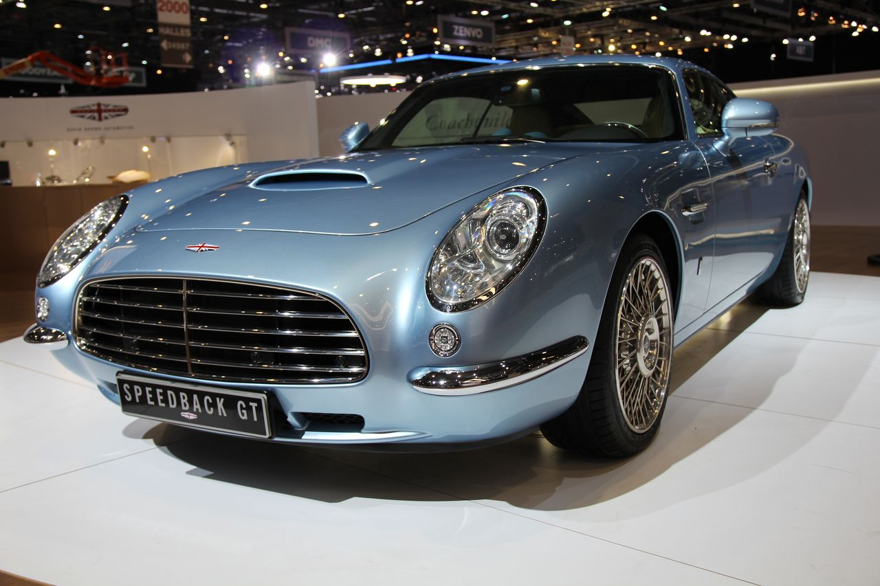 David Brown Speedback GT : comme un air de Bristol au salon de Genève