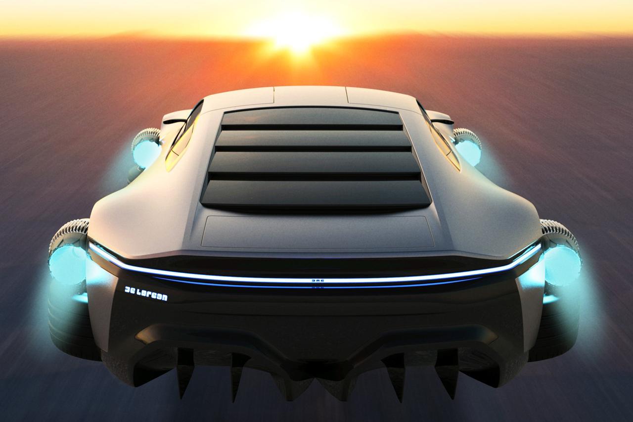 DeLorean DMC-12 (2020) : bientôt un remake par Rimac ?