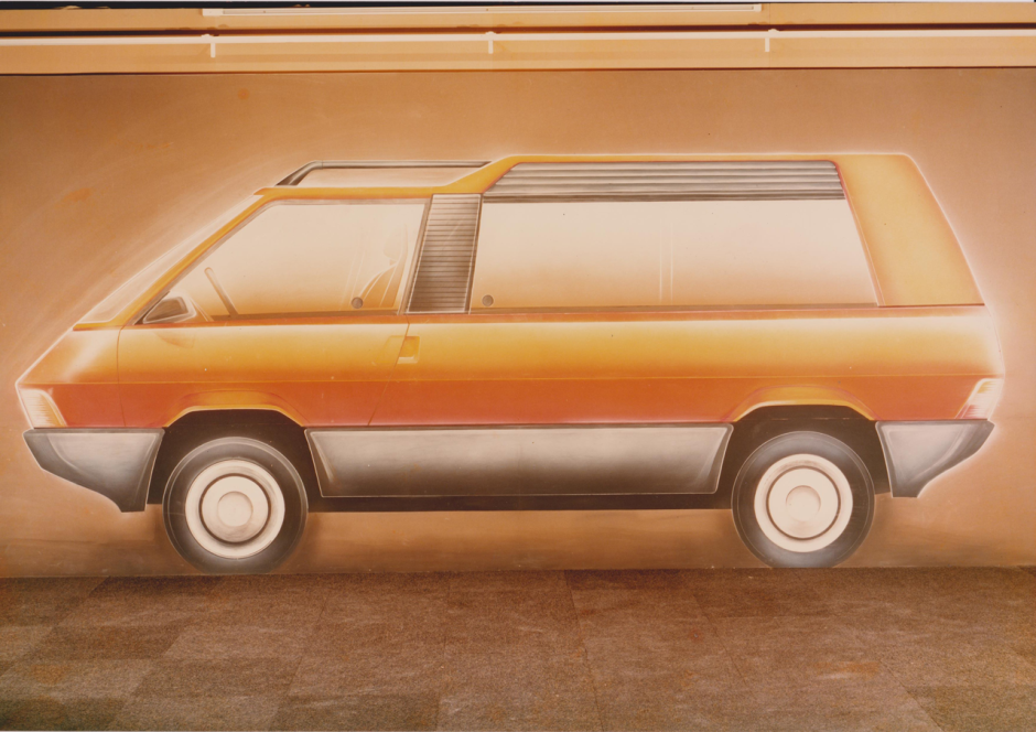 saga renault espace retour sur 35 ans d 39 histoire automobile le dessin orange l 39 argus. Black Bedroom Furniture Sets. Home Design Ideas