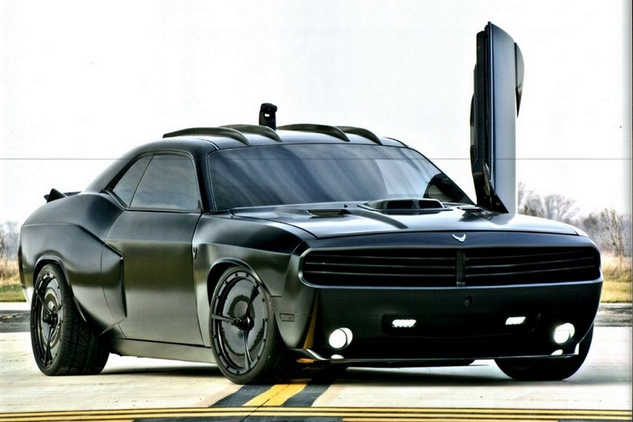 dodge challenger vapor la voiture furtive de lus air force photo  largus