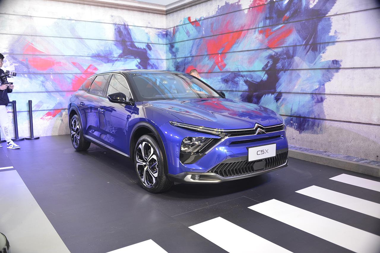 Dongfeng Citroën Versailles C5 X. Vie de château pour la C5 en Chine