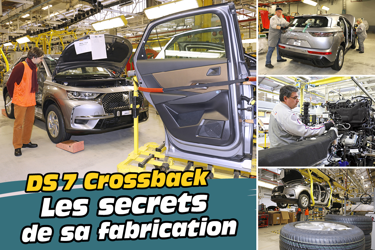 En images : DS 7 Crossback, les secrets de sa fabrication