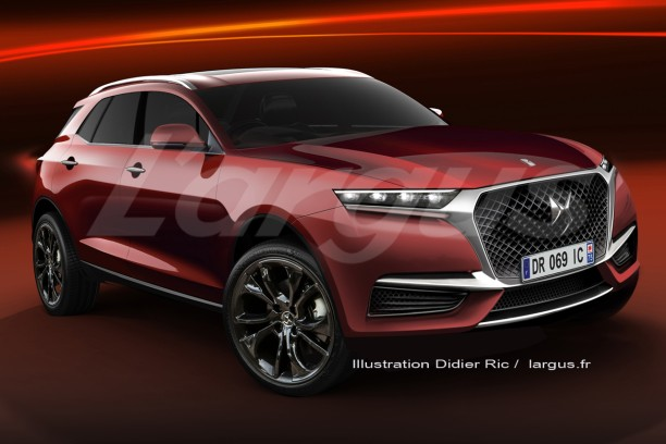 ds7 crossback 2017 infos sur le futur suv premium de ds. Black Bedroom Furniture Sets. Home Design Ideas