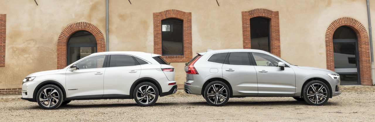 essai comparatif le ds7 crossback d fie le volvo xc60 photo 5 l 39 argus. Black Bedroom Furniture Sets. Home Design Ideas
