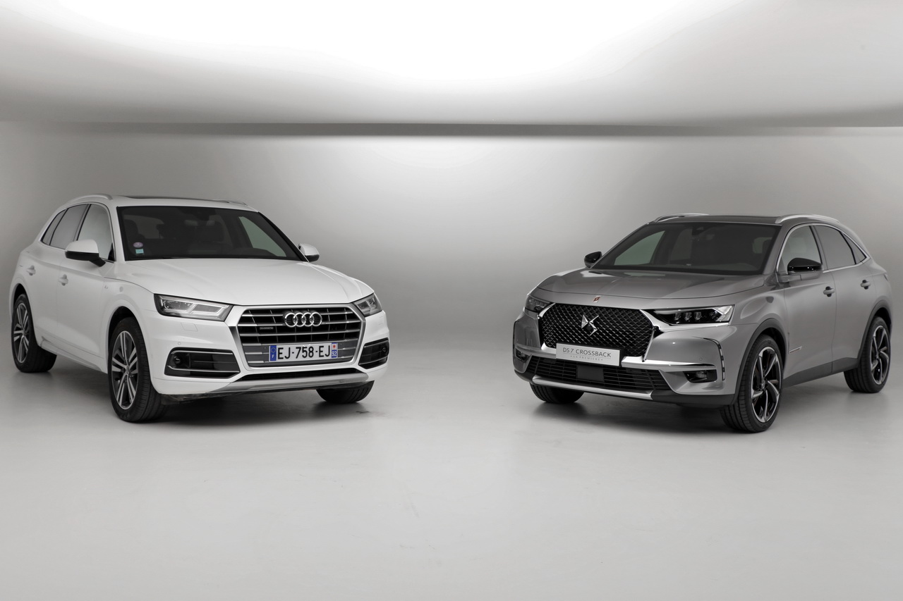 ds 7 crossback vs audi q5 premier match exclusif en vid o photo 2 l 39 argus. Black Bedroom Furniture Sets. Home Design Ideas