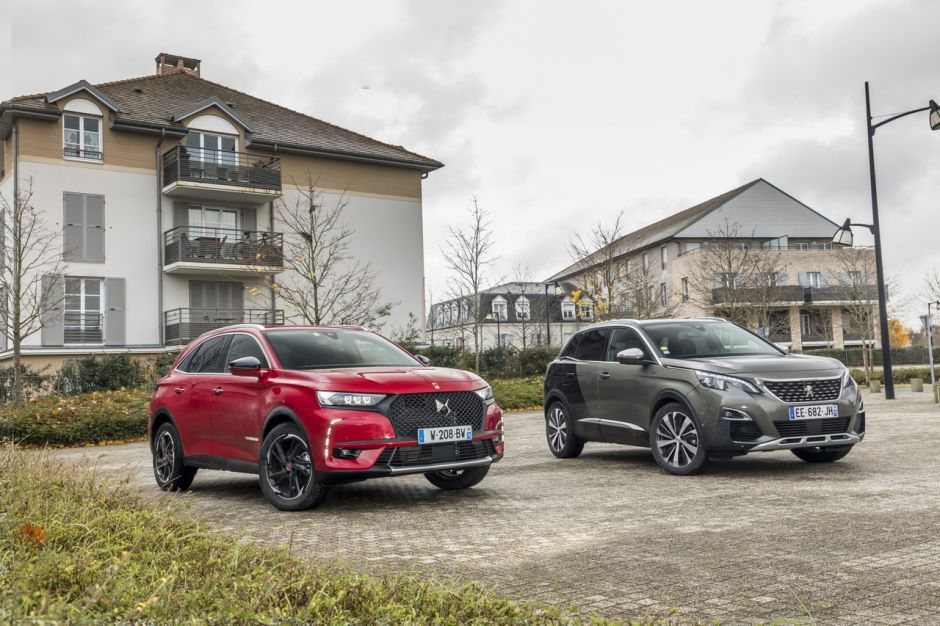 essai comparatif le ds7 crossback d fie le peugeot 3008 gt photo 2 l 39 argus. Black Bedroom Furniture Sets. Home Design Ideas