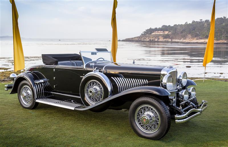 les plus belles voitures du concours d 39 l gance de pebble beach 2015 duesenberg j murphy l 39 argus. Black Bedroom Furniture Sets. Home Design Ideas