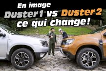 Dacia Duster 1 vs Dacia Duster 2