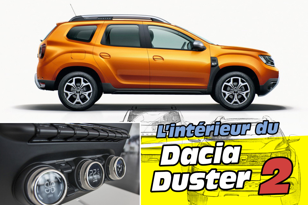 dacia duster 2018 l 39 int rieur du nouveau duster 2 en images photo 1 l 39 argus. Black Bedroom Furniture Sets. Home Design Ideas