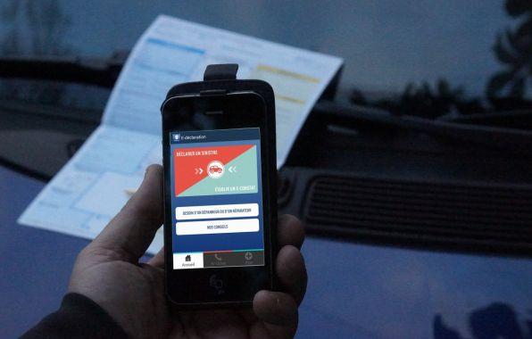 La Matmut fait �voluer son application mobile E-d�claration