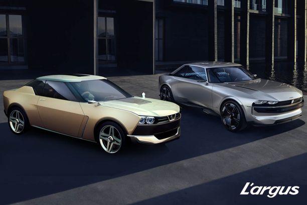 Peugeot E Legend Vs Nissan Idx Le Retour Des Coupes Des Annees 70