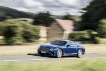 Bentley Continental GT action avant gauche