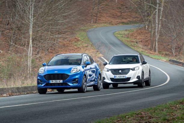 Ford Puma vs Peugeot 2008