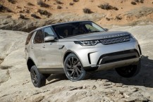 3/4 avant Land Rover Discovery (2017) franchissement