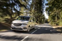 Opel Combo Life XL 2019 gris travelling avant gauche