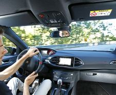 Essai de la Peugeot 308 GTi 2015 sur les routes du Portugal photos exclusives