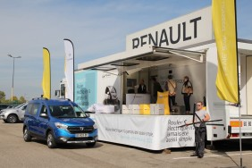 centre d'essai salon automobile de Lyon 2017 Renault