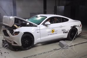 crash test euroncap 2017 ford mustang