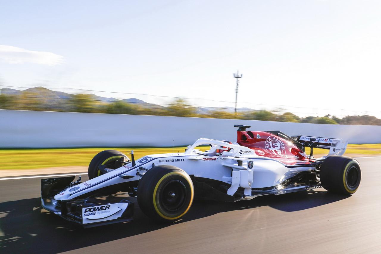 F1 2018 Les Nouvelles Formule 1 De 2018 En Images Alfa