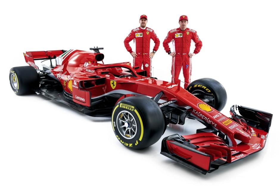 F1 2018 Les Nouvelles Formule 1 De 2018 En Images