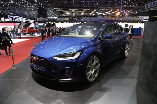 Tesla Model X by Fab Design Genève 2017