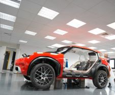Citroen Aircross 2015 à l'atelier de conception