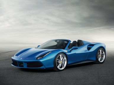 ferrari 488 spider 2015 premi res photos officielles l 39 argus. Black Bedroom Furniture Sets. Home Design Ideas