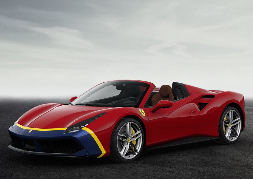 70 ans de ferrari les s ries sp ciales de 1947 1956 the fangio ferrari 488 spider l 39 argus. Black Bedroom Furniture Sets. Home Design Ideas
