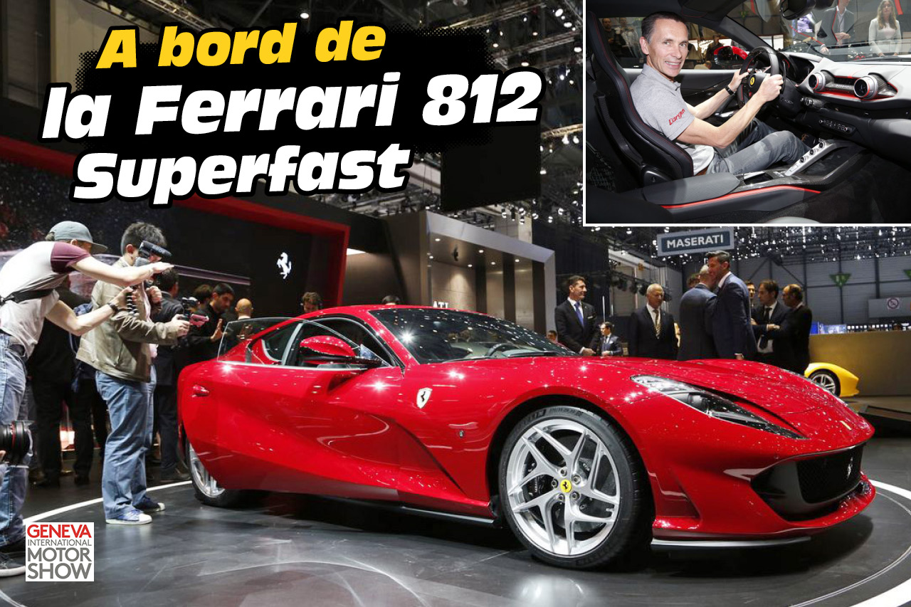 Toutes nos photos de la Ferrari 812 Superfast