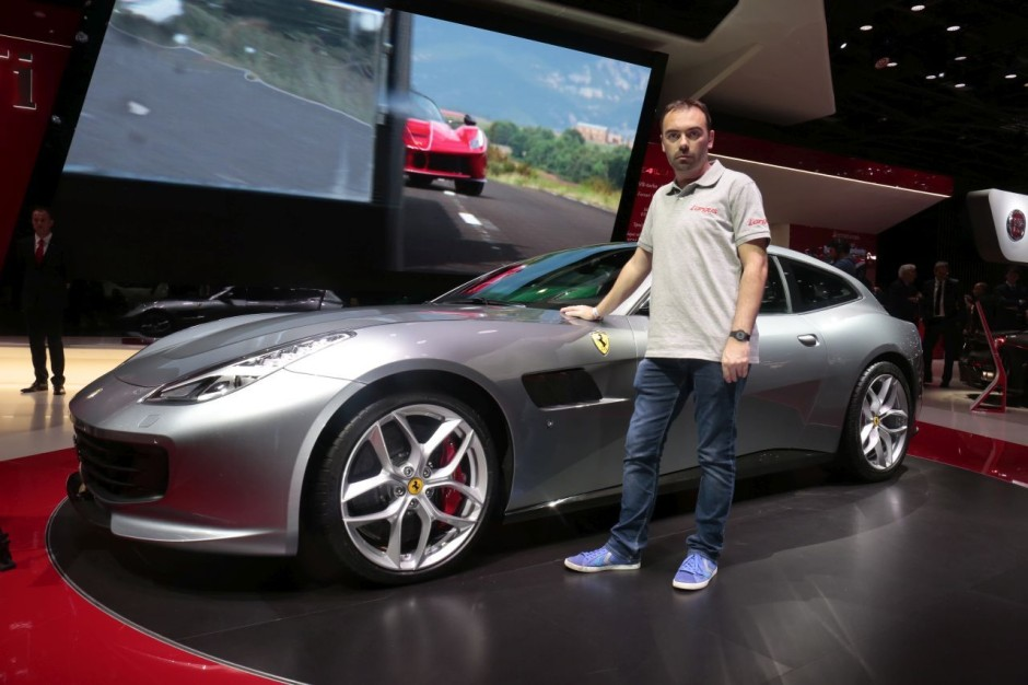 les premi res mondiales au salon de l 39 automobile de paris 2016 ferrari gtc4lusso t l 39 argus. Black Bedroom Furniture Sets. Home Design Ideas
