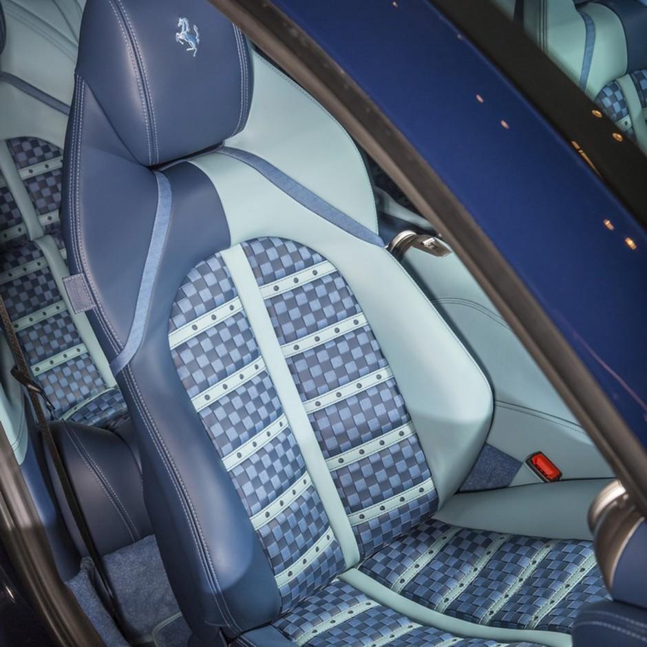 ferrari gtc4lusso azzurra un mod le unique par garage italia photo 14 l 39 argus. Black Bedroom Furniture Sets. Home Design Ideas