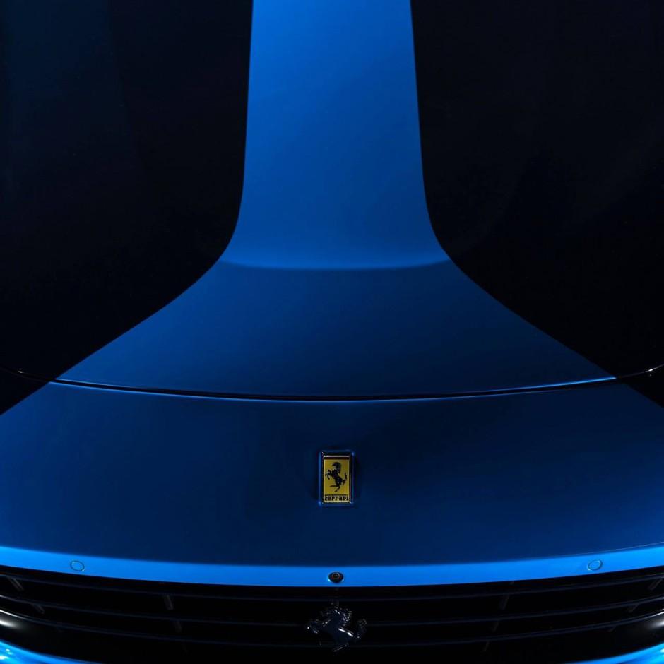 ferrari gtc4lusso azzurra un mod le unique par garage italia photo 4 l 39 argus. Black Bedroom Furniture Sets. Home Design Ideas