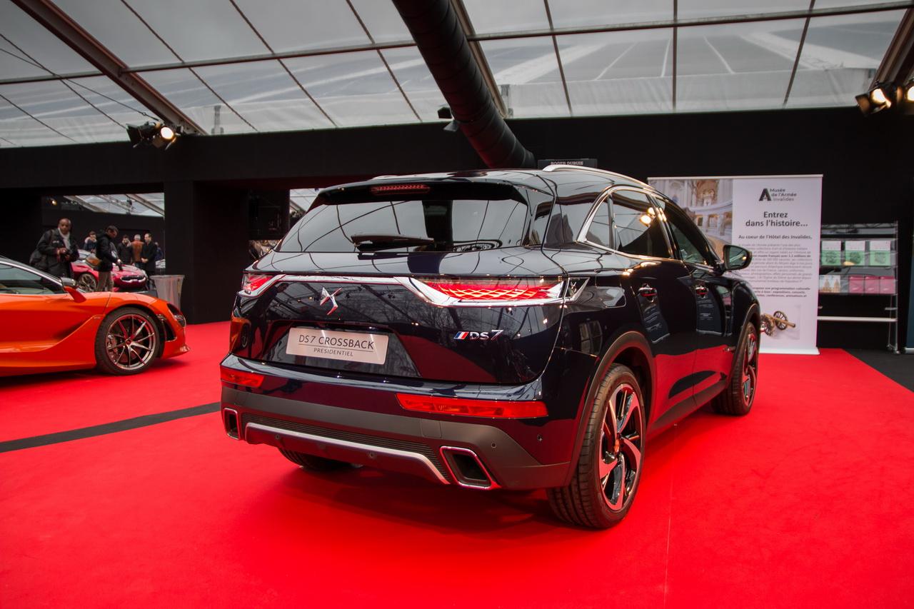 festival automobile international 2018 visite guid e ds7 crossback pr sidentielle l 39 argus. Black Bedroom Furniture Sets. Home Design Ideas