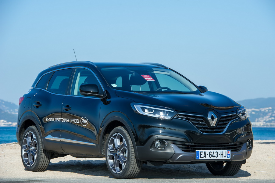 toutes les renault du festival de cannes en images renault kadjar l 39 argus. Black Bedroom Furniture Sets. Home Design Ideas