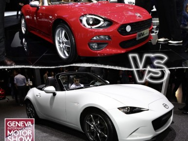 Fiat 124 Spider vs Mazda MX-5 : le match cheveux au vent