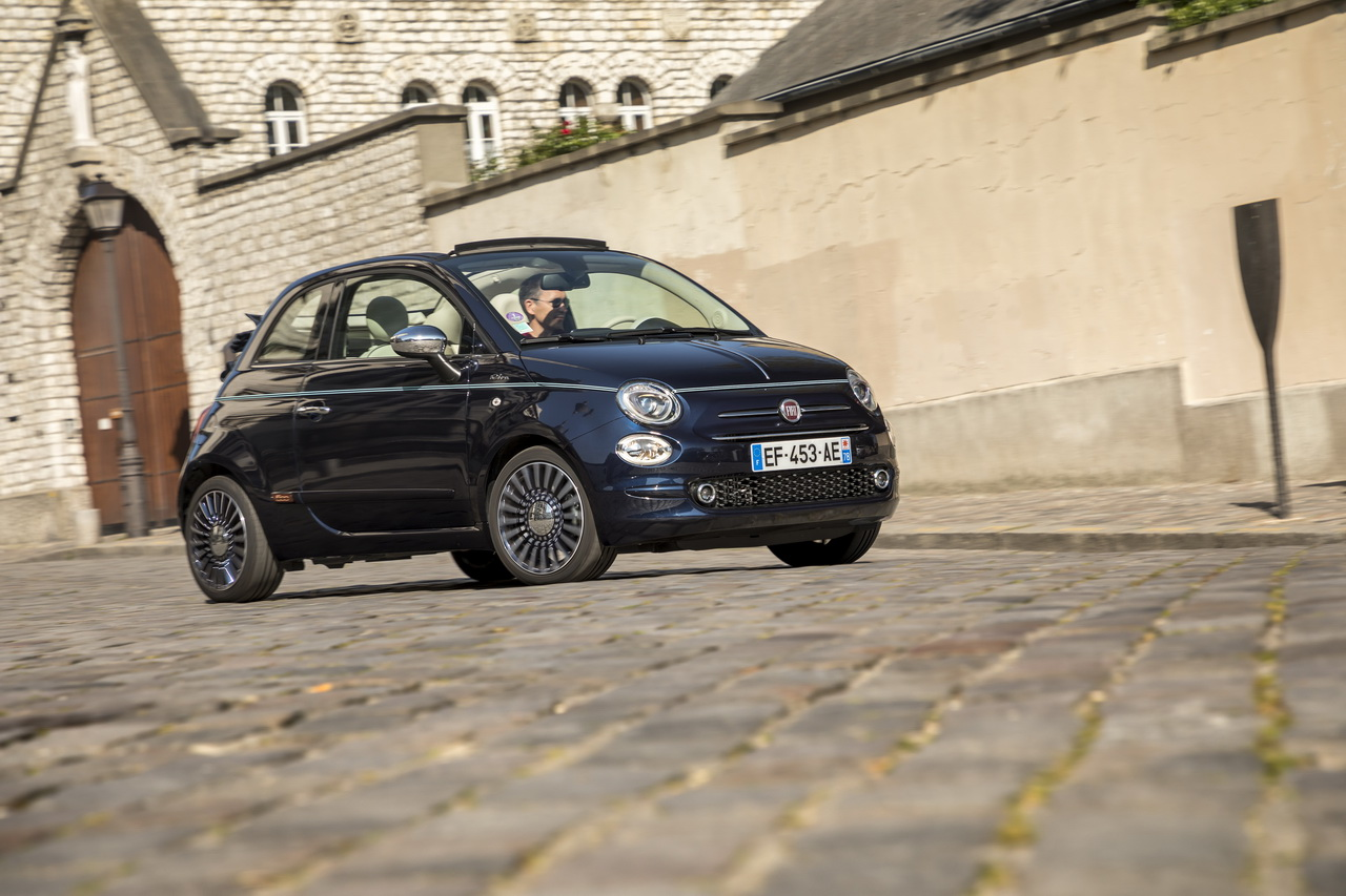 la fiat 500 f te ses 60 ans c 39 tait mieux avant photo 39 l 39 argus. Black Bedroom Furniture Sets. Home Design Ideas