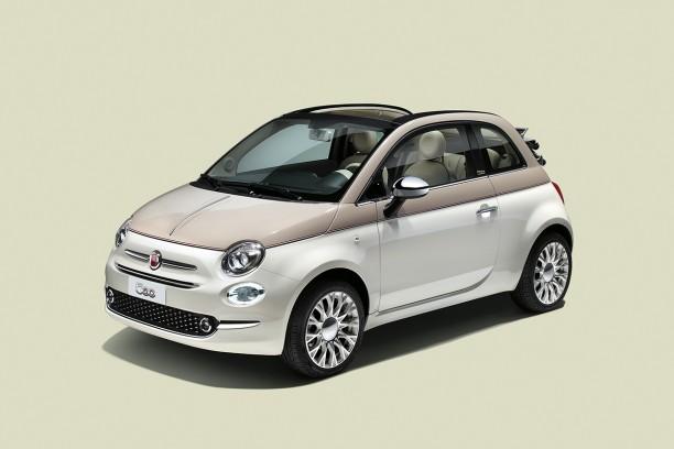 Bien-aimé La Fiat 500 s'offre une série spéciale pour son 60e anniversaire  UV63