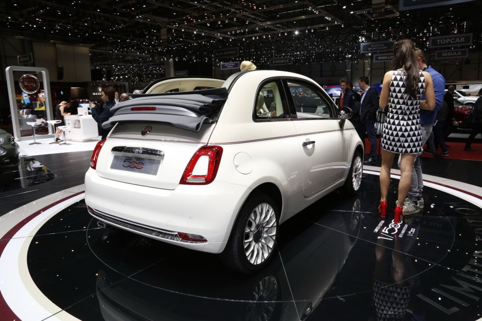 les italiennes font leur show au salon de gen ve 2017 fiat 500 60e anniversaire l 39 argus. Black Bedroom Furniture Sets. Home Design Ideas